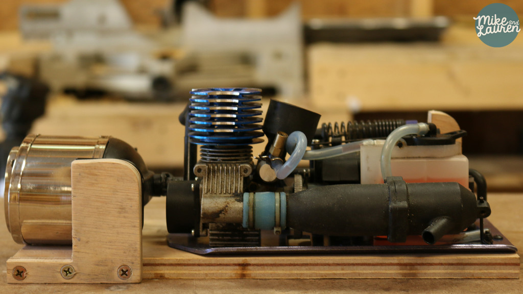 nitro engine pencil sharpener